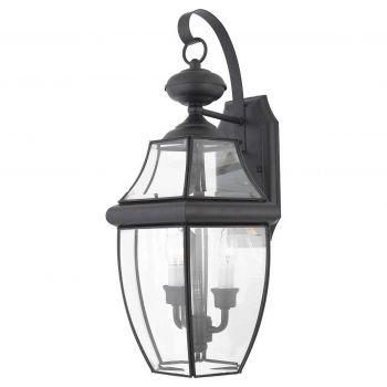 """Quoizel Newbury 10.75"""" Outdoor Lantern in Black"""