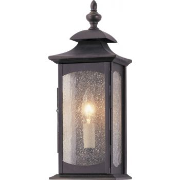 """Feiss Market Square Collection 6"""" Outdoor Lantern in Bronze"""