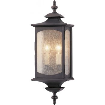 """Feiss Market Square Collection 7"""" Outdoor Lantern in Bronze"""