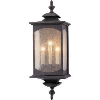 """Feiss Market Square Collection 9"""" Outdoor Lantern in Bronze"""