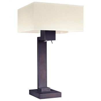 George Kovacs Step Table Lamp in Bronze
