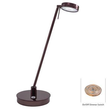 George Kovacs LED Desk Lamp in Brown