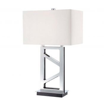George Kovacs Portables 1-Light Table Lamp in Polished Nickel