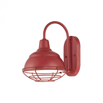 Millennium Lighting R Series 1-Light Wall Sconce in Satin Red