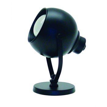 House of Troy Spot Task Light Eyeball in Black Finish
