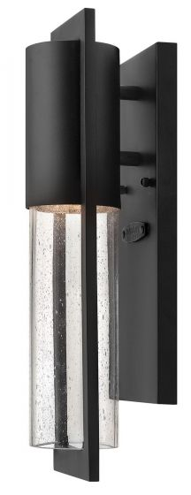 Hinkley Shelter Outdoor Mini Wall Sconce in Black