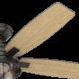 "Hunter Fans Coral Bay 3-Light 52"" Indoor/Outdoor Ceiling Fan in Noble Bronze"