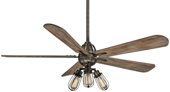 "Minka-Aire Alva 56"" LED Ceiling Fan in Heirloom Bronze"