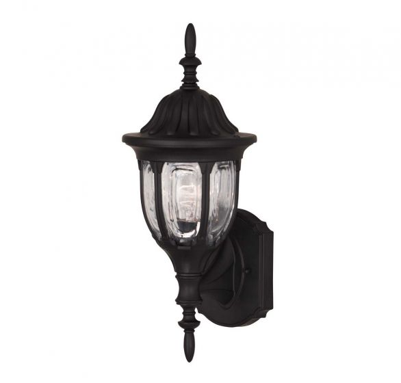 """Savoy House Exterior Collections 18"""" Wall Lantern - Black"""