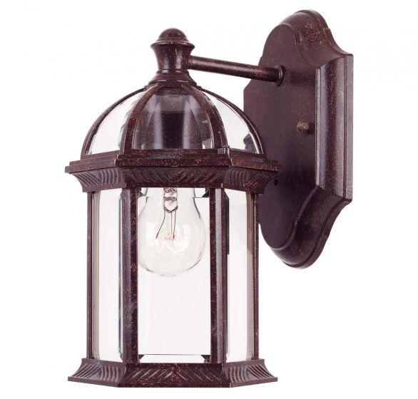 Savoy House Kensington Outdoor Wall Lantern in Rustic Bronze