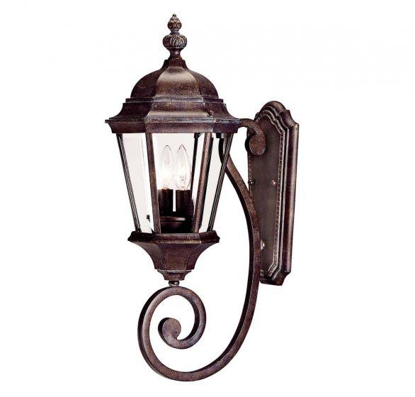 Savoy House Wakefield 2-Light Outdoor Wall Lantern in Walnut Patina