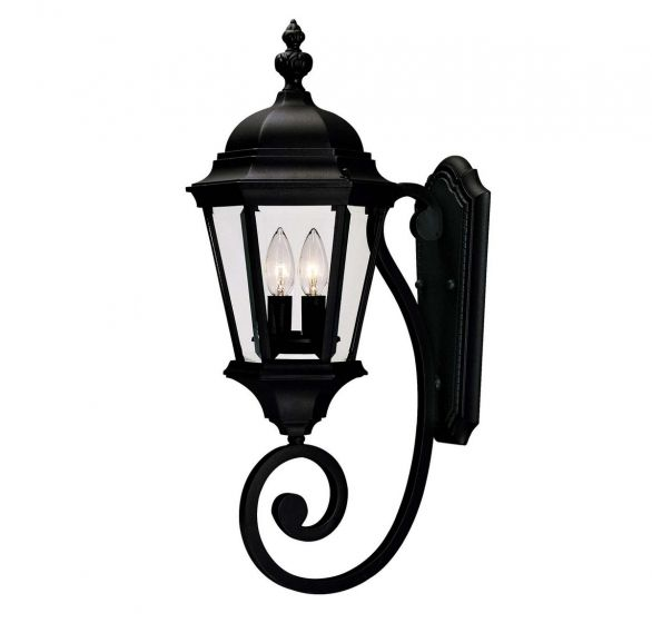 Savoy House Wakefield 2-Light Outdoor Wall Lantern in Textured Black