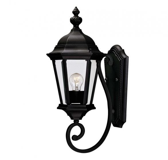 "Savoy House Wakefield 20"" Outdoor Wall Lantern in Textured Black"