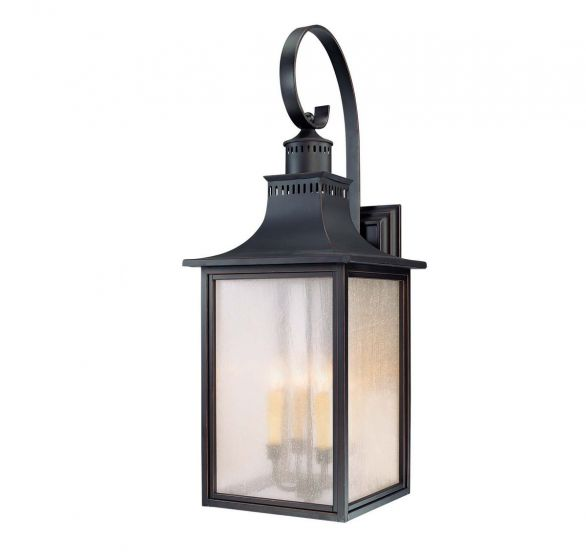 Savoy House Monte Grande 4-Light Outdoor Wall Lantern in Slate