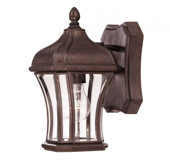 Savoy House Realto Outdoor Wall Lantern in Walnut Patina