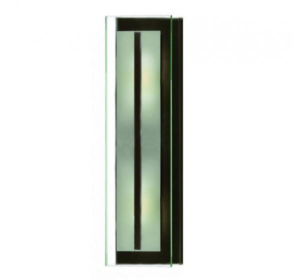 Hinkley Latitude 2-Light Bathroom Wall Sconce in Oil Rubbed Bronze