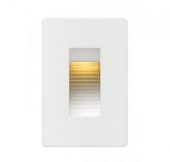 Hinkley Luna 1-Light LED Outdoor Landscape 120V Deck in Satin White
