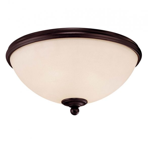 Savoy House Willoughby 2-Light Flush Mount in English Bronze