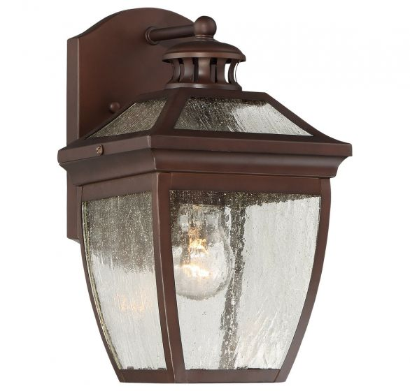 "The Great Outdoors Sunnybrook 11"" Outdoor Wall Light in Alder Bronze"