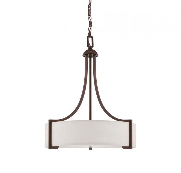 Savoy House Terrell 3-Light Pendant in English Bronze