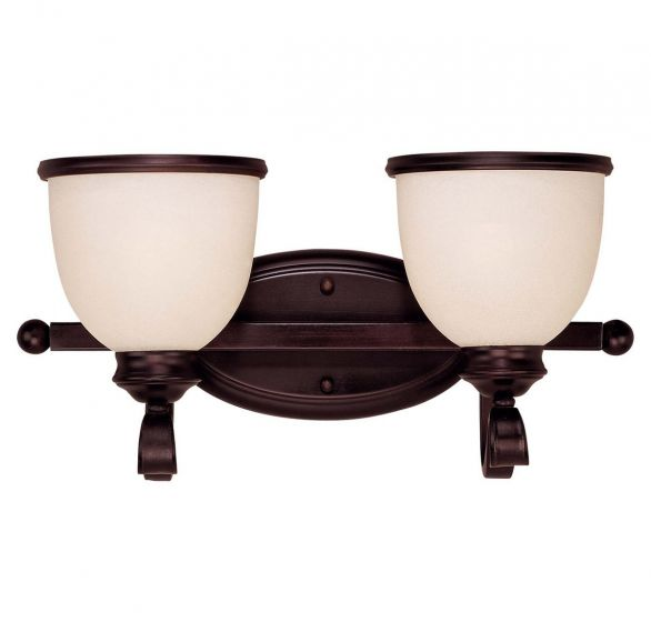 Savoy House Willoughby 2-Light Vanity Bar in English Bronze