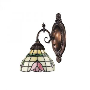 """ELK Mix-N-Match 10"""" Wall Sconce in Tiffany Bronze"""