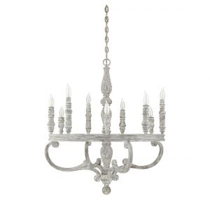 "Savoy House Westbrook 31.5"" 9-Light Chandelier in Charisma"