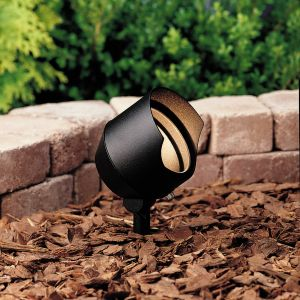 "Kichler Landscape 4.5"" 12V Accent in Textured Black"