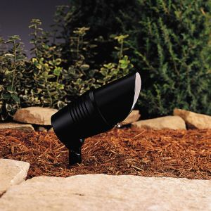 Kichler Landscape 12V Accent in Black Material (Not Painted)