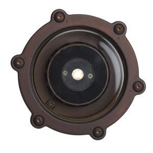 Kichler Landscape 2700K 35 Deg 4W LED Inground Well in Bronzed Brass