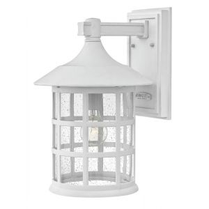 Hinkley Freeport 1-Light Outdoor Large Wall Mount in Classic White
