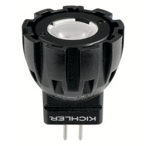 Kichler Landscape 1.5W MR8 25 Degree 2700K LED Lamp in Black