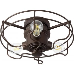 Quorum International Windmill 3-Light Cage Kit in Oiled Bronze
