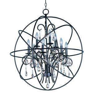 Maxim Lighting Orbit 9-Light Pendant in Oil Rubbed Bronze