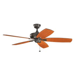 "Kichler Ashbyrn 60"" Ceiling Fan in Olde Bronze"