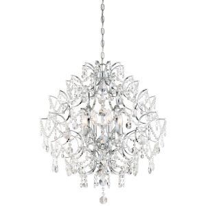 Minka Lavery Isabella'S Crown 8-Light Traditional Chandelier in Chrome