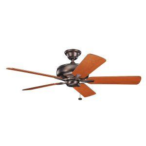 """Kichler Terra 52"""" Ceiling Fan in Oil Brushed Bronze"""