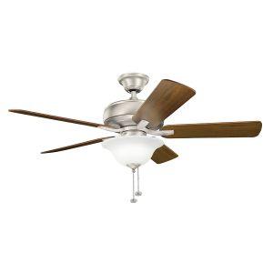 "Kichler Terra Select 52"" Ceiling Fan in Brushed Nickel"