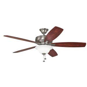 "Kichler Terra Select 60"" Ceiling Fan in Burnished Antique Pewter"