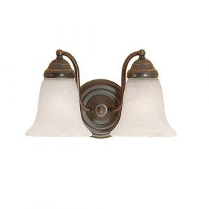 Millennium Lighting 300 Series 2-Light Bath Vanity in Colonial Bronze