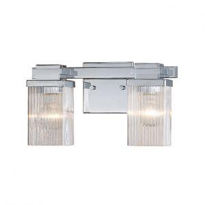 Millennium Lighting 300 Series 2-Light Bath Vanity in Chrome