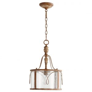 "Quorum International Salento 12"" Pendant Light in French Umber"