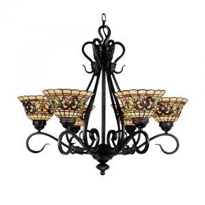 Landmark Tiffany Buckingham 6-Light Chandelier