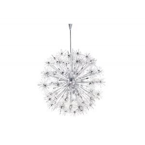 "Maxim Lighting Starfire 44"" 40-Light Chandelier in Polished Chrome"