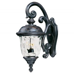 """Maxim Carriage House 26.5"""" 3-Light Outdoor Wall Mount in Oriental Bronze"""