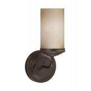 Sea Gull Lighting Sfera 1-Light Bath Vanity in Autumn Bronze