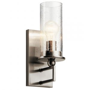 """Kichler Kayde 12.5"""" Wall Sconce in Classic Pewter"""
