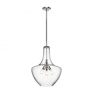 Kichler Everly 3-Light Pendant in Chrome