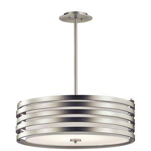 Kichler Roswell 4-Light Pendant in Brushed Nickel