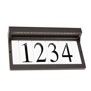 """Kichler Address Light 12.25"""" LED Address Light in Olde Bronze"""